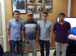 Algeria customers come to our company