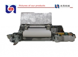 1092mm 10TPD Printing Paper Making Machine