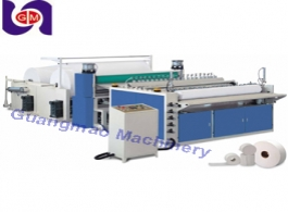 Semi automatic toilet paper roll rewinding machine and china automatic rewinder paper to tissue