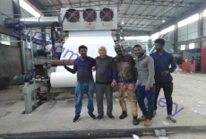 Toilet Tissue Paper Factory For Ethiopia Clients